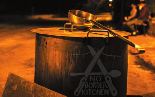Sa., 26.5.: Talk mit der No Border Kitchen Lesvos und Vorstellung von Mare Liberum