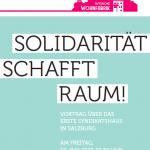 Vortrag der Autonomen Wohnfabrik (Salzburg) am 12.Mai ab 19:30 Uhr bei uns